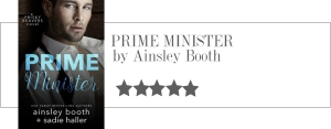 ainsley booth - prime minister